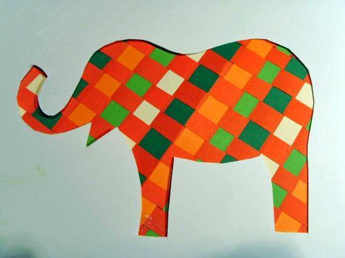 tasche elefant stricken